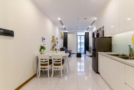 Bán căn hộ Vinhomes Central Park 1PN, tầng trung, diện tích 50m2, đầy đủ nội thất