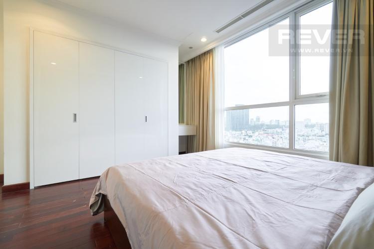 Phòng Ngủ 1 Bán căn hộ Vinhomes Central Park 3PN, tháp The Central 3, đầy đủ nội thất, thiết kế sang trọng