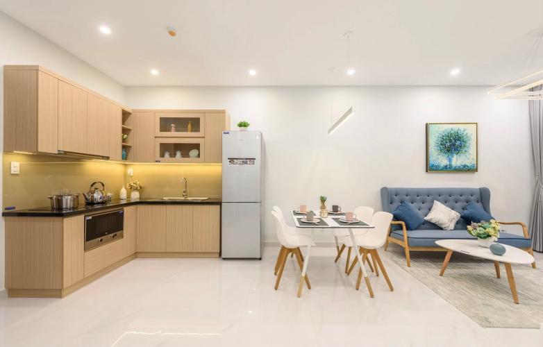 Phòng bếp Lovera Vista, Bình Chánh Căn hộ Lovera Vista tầng trung, nội thất cơ bản, tiện ích cao cấp.