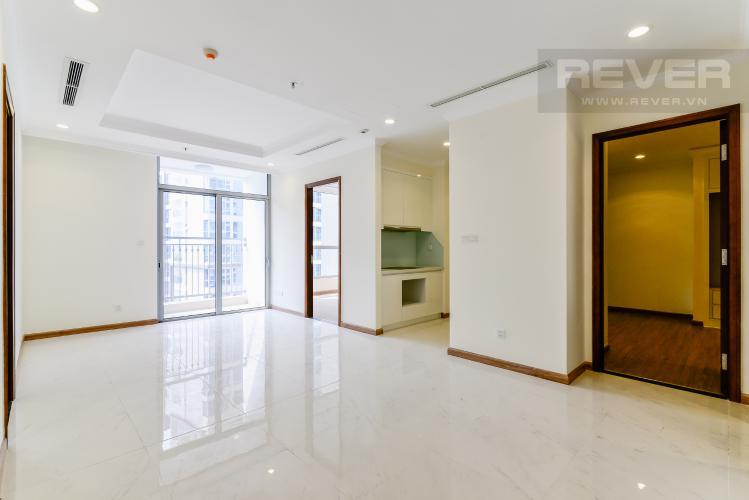 Phòng Khách Căn hộ Vinhomes Central Park 3 phòng ngủ tầng cao L1 view sông