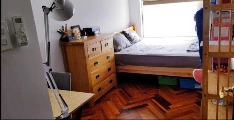 Phòng ngủ Sunrise Cityview, Quận 7 Căn hộ tầng cao Sunrise Cityview 2 phòng ngủ, đầy đủ nội thất.