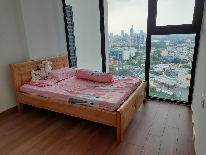 Phòng ngủ căn hộ Eco Green Saigon Căn hộ Eco Green Saigon 2 phòng ngủ thiết kế hiện đại đầy đủ nội thất