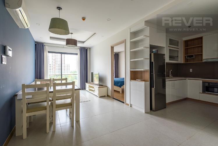 Phòng khách căn hộ NEW CITY THỦ THIÊM Cho thuê căn hộ New City Thủ Thiêm 2PN, tầng thấp, đầy đủ nội thất, view công viên