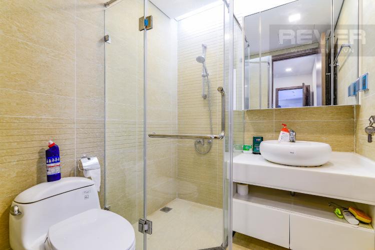 Phòng Tắm 2 Căn hộ Vinhomes Central Park tầng trung Park 7 đầy đủ nội thất