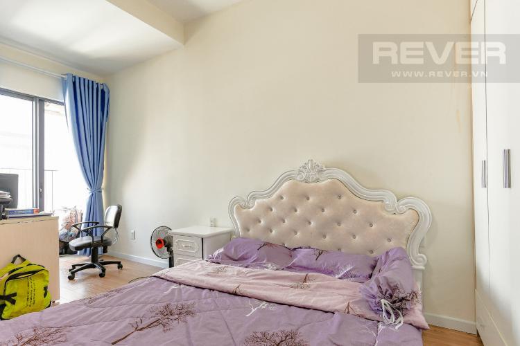 Phòng Ngủ 1 Căn hộ M-One Nam Sài Gòn tầng cao diện tích 62,75m2, nội thất đầy đủ.