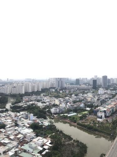 View Sunrise City, Quận 7 Căn hộ Sunrise City tầng cao, view thành phố, 3 phòng ngủ.