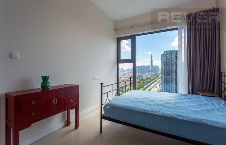Phòng Ngủ Cho thuê căn hộ Madison Gateway Thảo Điền tầng cao, 1PN, đầy đủ nội thất