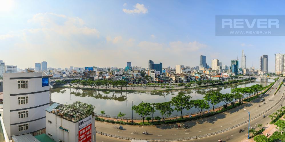 View Bán căn office-tel Masteri Millennium view sông