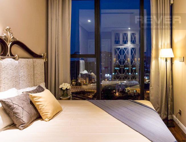 Phòng Ngủ 2 Bán căn hộ Vinhomes Golden River 2PN, tháp The Aqua 3, đầy đủ nội thất, hướng Đông Nam, view mé sông