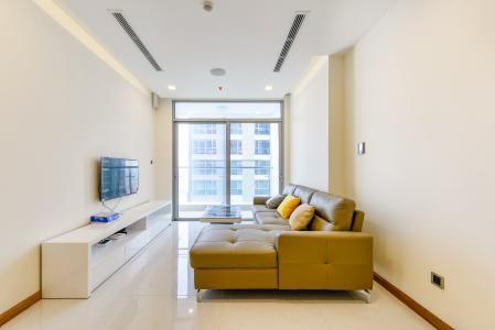 Căn hộ Vinhomes Central Park 2 phòng ngủ tầng cao P6 thiết kế hiện đại