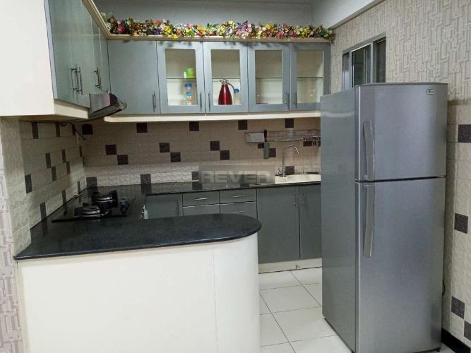 Phòng bếp chung cư Phú Mỹ An, Quận 7 Căn hộ chung cư Phú Mỹ An tầng 3, đầy đủ nội thất, view nội khu.