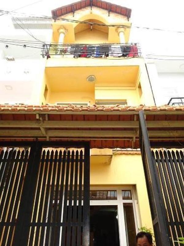 1 Bán nhà phố 3 tầng, phường 9, Gò Vấp, đầy đủ nội thất, hẻm xe hơi thông ra đường Cây Trâm, Phạm Văn Chiêu