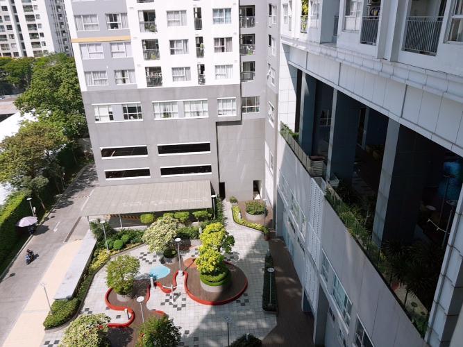 Chung cư Galaxy 9, Quận 4 Căn hộ chung cư Galaxy 9 đầy đủ nội thất, view nội khu.