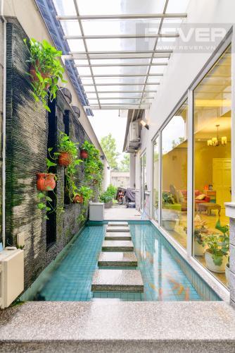 Trang Trí Cho thuê biệt thự Khu dân cư An Phú, hướng Đông Nam, thiết kế sang trọng, đầy đủ nội thất