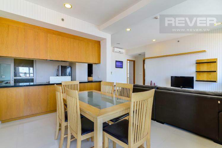 Phòng Ăn Căn hộ Sunrise City 2 phòng ngủ tầng trung V6 nội thất đầy đủ