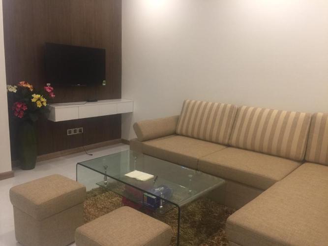 Cho thuê căn hộ Vinhomes Central Park 1PN, đầy đủ nội thất, view sông và công viên