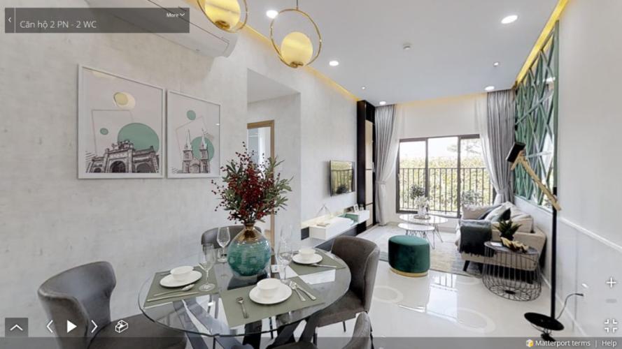 Phòng khách căn hộ Picity Bán căn hộ Picity High Park tầng trung, 2 phòng ngủ, diện tích 57.6m2, nội thất cơ bản