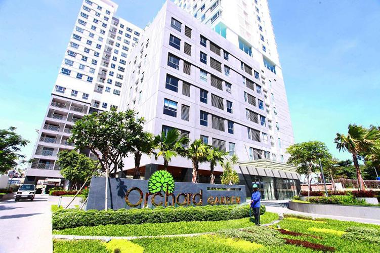 Toàn cảnh Orchard Garden, Phú Nhuận Căn hộ Office-tel Orchard Garden tầng thấp, nội thất cơ bản.