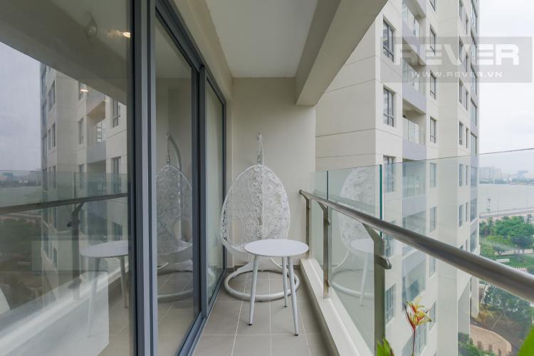 Balcony Bán căn hộ Diamond Island - Đảo Kim Cương 2PN, tháp Maldives, đầy đủ nội thất, view nội khu