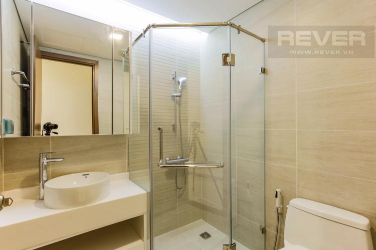 Phòng Tắm 1 Căn hộ Vinhomes Central Park tầng trung Park 2 mới bàn giao, view sông thoáng mát