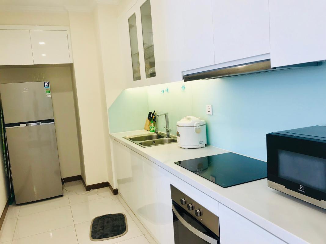 acea1790768e8fd0d69f Cho thuê căn hộ Vinhomes Central Park 1PN, tháp Landmark Plus, đầy đủ nội thất, view thành phố
