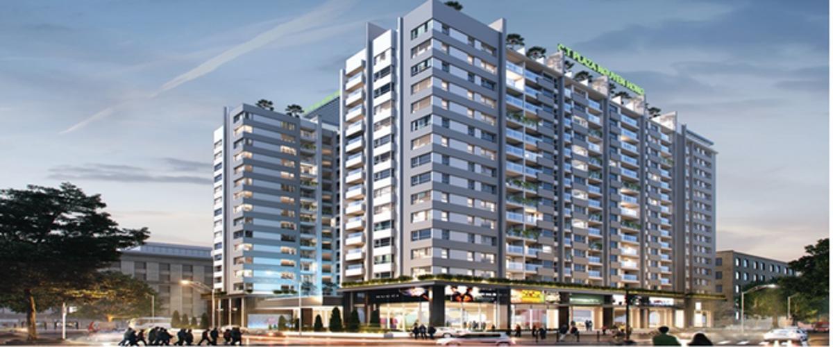 Căn hộ CT Plaza Nguyên Hồng, Gò Vấp Căn hộ CT Plaza Nguyên Hồng tầng cao 2 phòng ngủ.