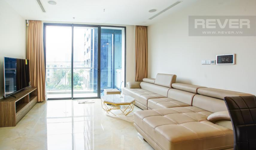 Bán căn hộ Vinhomes Golden River 2PN, tháp The Aqua 2, đầy đủ nội thất, view hồ bơi