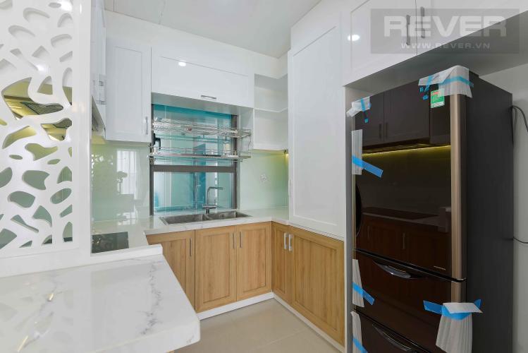 Bếp Cho thuê căn hộ The Sun Avenue 3PN, block 3, diện tích 90m2, đầy đủ nội thất, view đại lộ Mai Chí Thọ