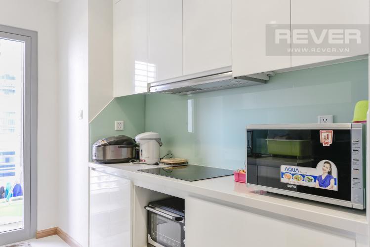 Nhà Bếp Căn hộ Vinhomes Central Park 3PN đầy đủ nội thất, có thể dọn vào ở ngay