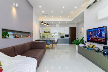 Bán căn hộ Tropic Garden 2PN, đầy đủ nội thất, view sông Sài Gòn và Landmark 81
