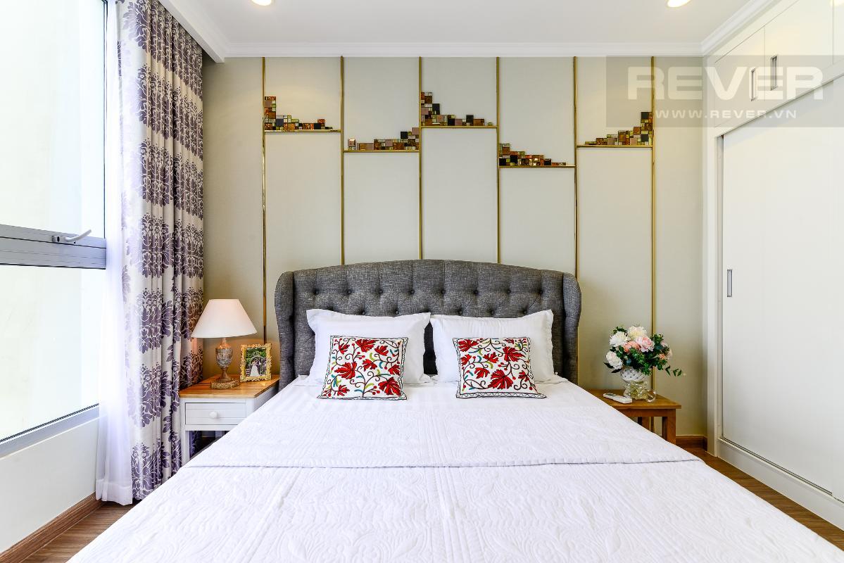 _DSC3980 Bán căn hộ Vinhomes Central Park 1PN, tháp Landmark 3, diện tích 54m2, đầy đủ nội thất, view sông