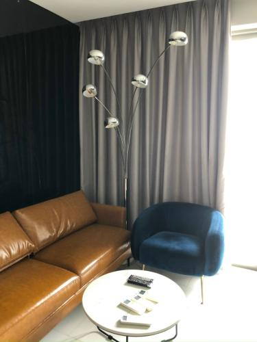Phòng khách An Gia Riverside, Quận 7 Căn hộ tầng trung An Gia Riverside nội thất cao cấp.