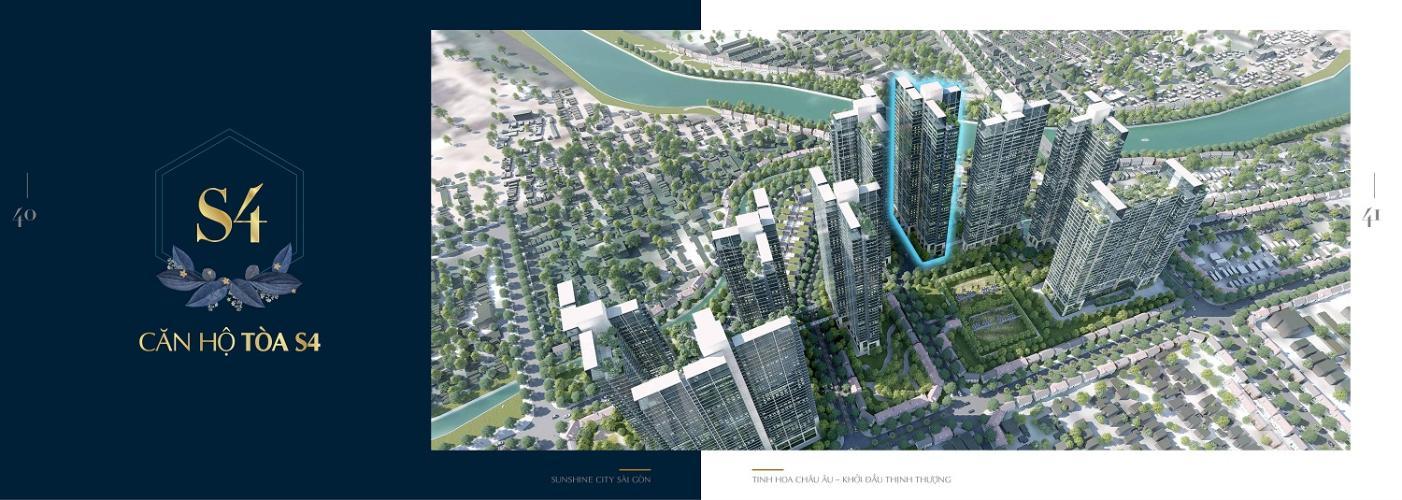 Tổng quan dự án Sunshine City Saigon Căn hộ Sunshine City Sài Gòn tầng cao, ban công hướng Tây Bắc.
