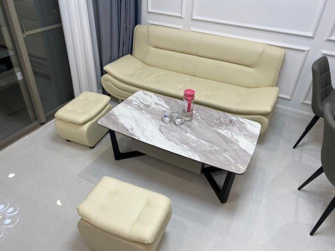 Phòng khách Saigon South Residence  Căn hộ Saigon South Residence ban công hướng Tây, đầy đủ nội thất