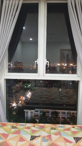 Phòng ngủ Thanh Đa View, Bình Thạnh Căn hộ Thanh Đa View tầng trung, view thành phố lung linh về đêm.