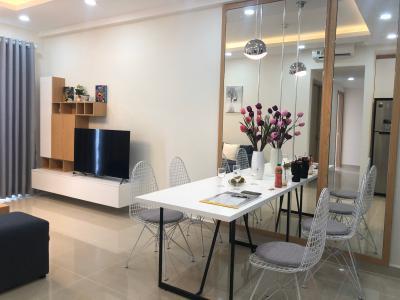 Bán căn hộ The Sun Avenue 3 phòng ngủ, block 4, diện tích 89m2, đầy đủ nội thất