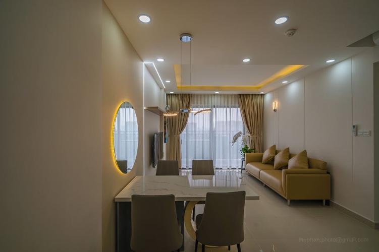 Cho thuê căn hộ view Landmart 81 - The Sun Avenue tầng thấp, diện tích 89.8m2, đầy đủ nội thất.