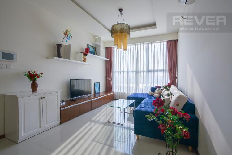 Phòng Khách Căn hộ Thảo Điền Pearl 2 phòng ngủ tầng trung tháp B đầy đủ nội thất