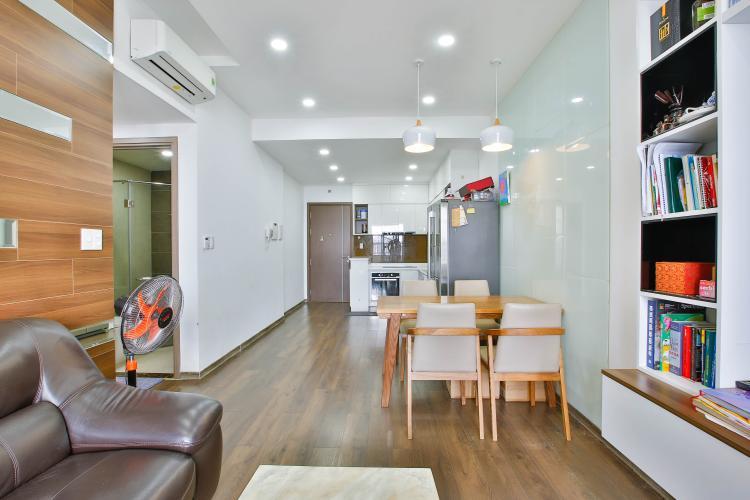 Phòng Khách Cho thuê căn hộ Lexington Residence tầng cao, 2PN, nội thất đầy đủ
