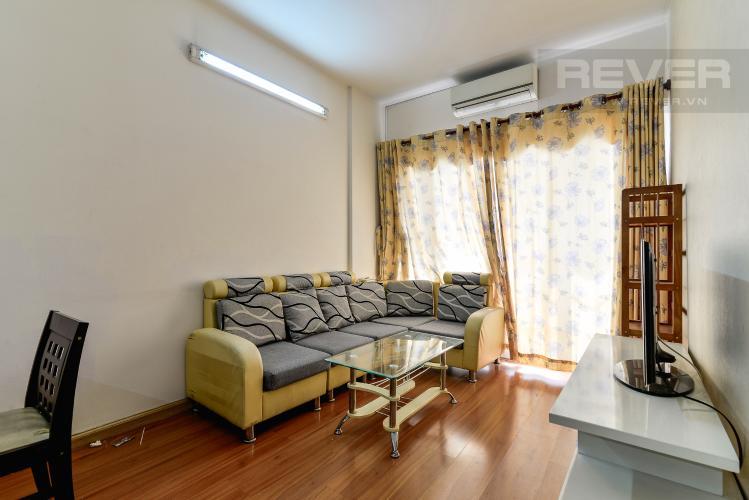 Phòng Khách Căn hộ Orient Apartment tầng thấp, 2PN, nội thất cơ bản