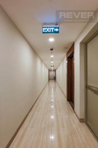 Hành lang Căn hộ Masteri Millennium tầng cao, tháp B, 1 phòng ngủ, view sông