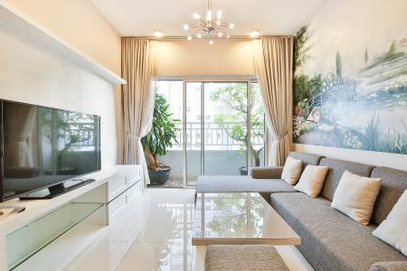 Căn hộ Sunrise City 2 phòng ngủ tầng cao W1 nội thất đầy đủ