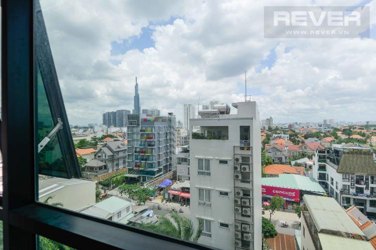 View Bán căn hộ The Ascent tầng thấp, đầy đủ nội thất, hướng Tây Nam vượng khí, view Landmark 81