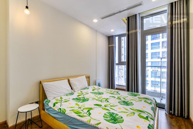 Phòng Ngủ 2 Căn hộ Vinhomes Central Park 2 phòng ngủ tầng trung P5 hướng Nam