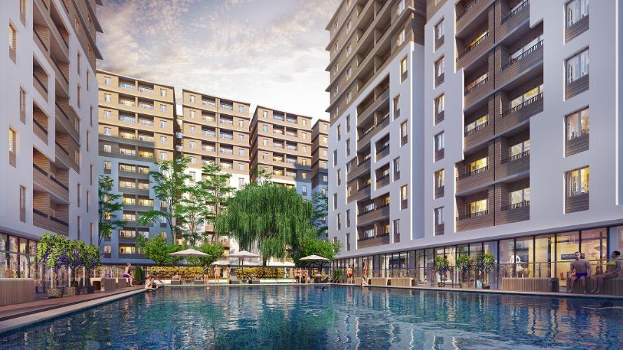 Chung cư Cityland Park Hills, Gò Vấp Căn hộ Cityland Park Hills hướng Nam đầy đủ nội thất cao cấp.