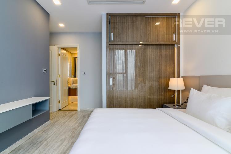 Phòng Ngủ 1 Căn hộ Vinhomes Golden River tầng cao, 2PN, đầy đủ nội thất, view sông thoáng đãng