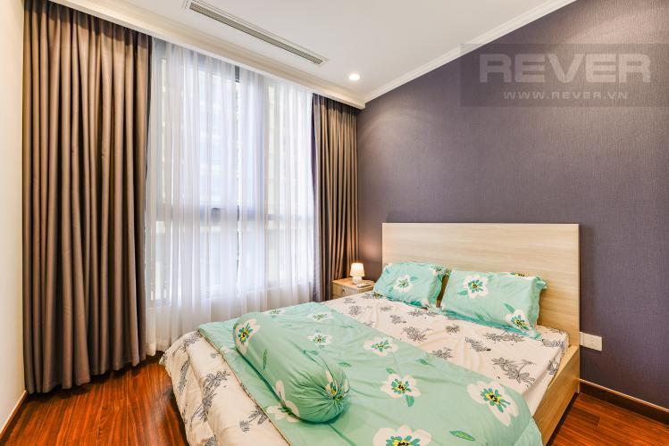 Phòng ngủ 2 Căn hộ Vinhomes Central Park 2 phòng ngủ tầng thấp L5 đầy đủ tiện nghi