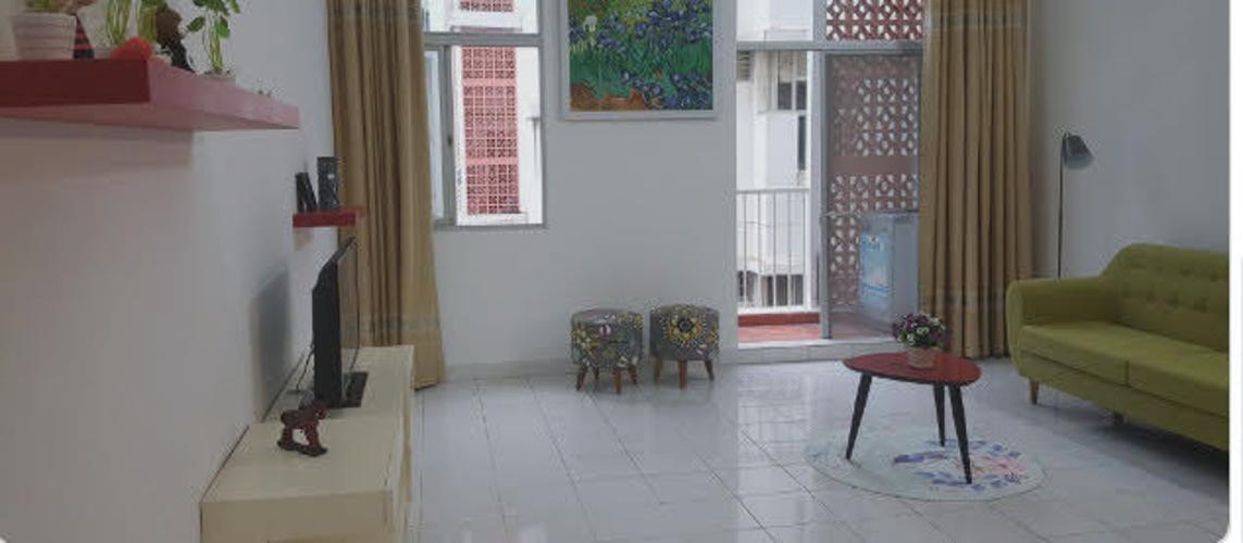Căn hộ Hưng Vượng 1 tầng thấp, đầy đủ nội thất.