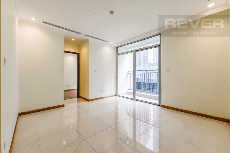 Phòng khách Officetel Vinhomes Central Park 1 phòng ngủ tầng thấp C3 nhà trống