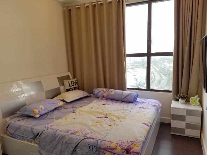 Phòng ngủ căn hộ The Sun Avenue Bán căn hộ view thành phố - The Sun Avenue tầng cao, diện tích 96m2, đầy đủ nội thất.
